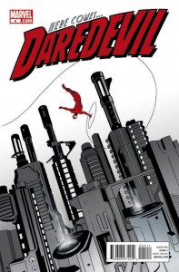 Daredevil #4 cover, from Marvel Comics.