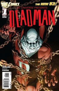 Cover to DC Comics' DC Universe Presents: Deadman 1, by Paul Jenkins and Bernard Chang