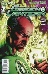 DC Comics Green Lantern 1 cover