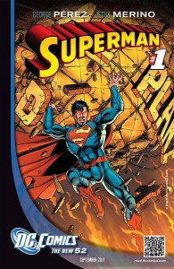 DC Comics Superman #1 promo art by George Perez