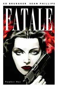 Promo cover for Fatale #1, written by Ed Brubaker with pencils by Sean Phillips