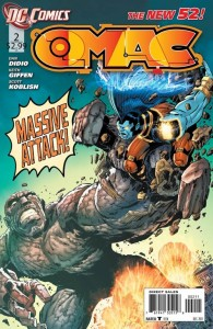Cover to DC Comics OMAC #2, by Dan DiDio and Keith Giffen
